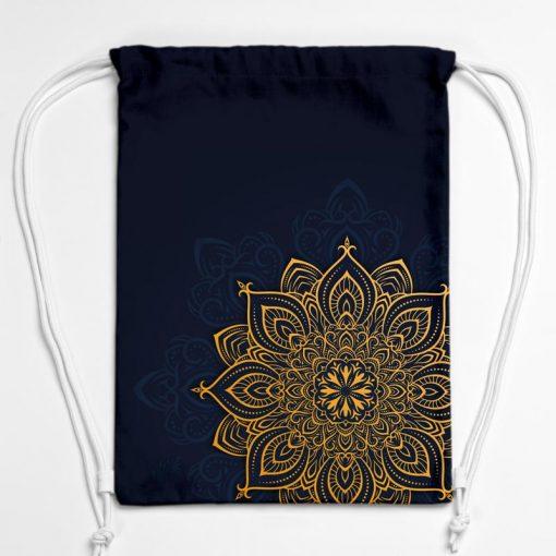 BAG01-006-Gym-Bag-Turnbeutel-Rucksack-Mandala-Golden-1