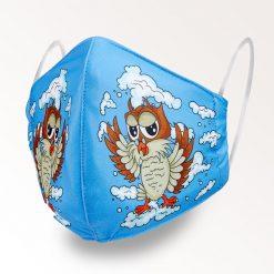 MNS01-014-Mund-Nasen-Schutz-Maske-Happy-Owl-1