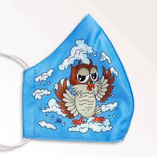 MNS01-014-Mund-Nasen-Schutz-Maske-Happy-Owl-2
