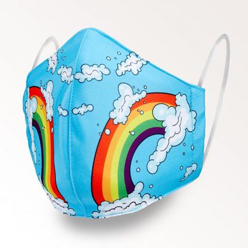 MNS01-016-Mund-Nasen-Schutz-Maske-Rainbow-1