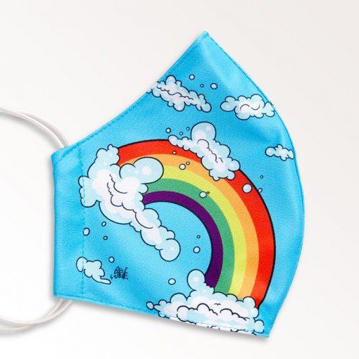MNS01-016-Mund-Nasen-Schutz-Maske-Rainbow-2