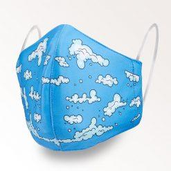 MNS01-018-Mund-Nasen-Schutz-Maske-Wolken-1