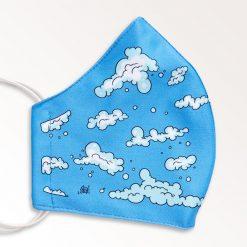 MNS01-018-Mund-Nasen-Schutz-Maske-Wolken-2