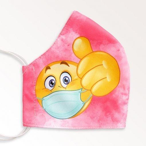 MNS01-022-Mund-Nasen-Schutz-Maske-Emoji-Magenta-2