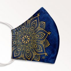 MNS01-029-Mund-Nasen-Schutz-Maske-Mandala-Golden-2