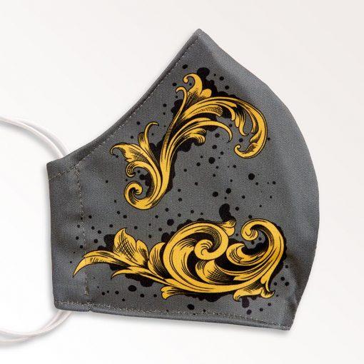 MNS01-031-Mund-Nasen-Schutz-Maske-Arabesque-Gold-2