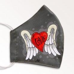 MNS01-044-Mund-Nasen-Schutz-Maske-Love-Hate-2