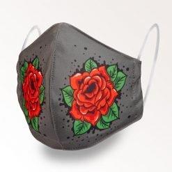 MNS01-050-Mund-Nasen-Schutz-Maske-Rosen-1