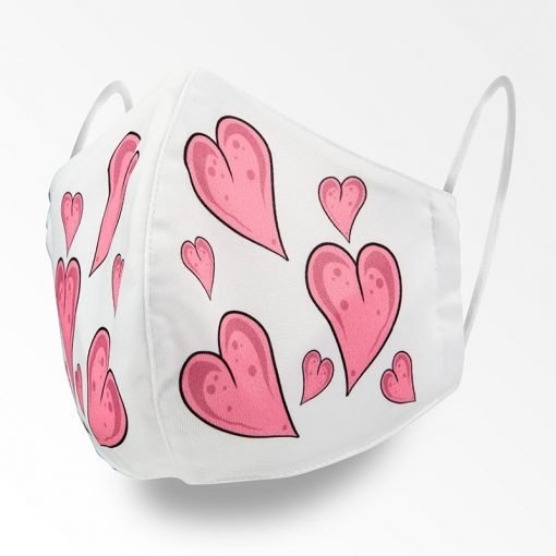 MNS01-069-Mund-Nasen-Schutz-Maske-Hearts-1