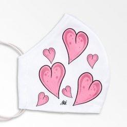MNS01-069-Mund-Nasen-Schutz-Maske-Hearts-2