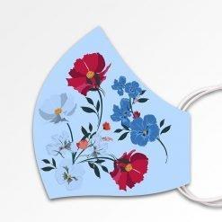 MNS01-081-Mund-Nasen-Schutz-Maske-Flowers-Babyblue-3
