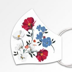 MNS01-082-Mund-Nasen-Schutz-Maske-Flowers-White-3