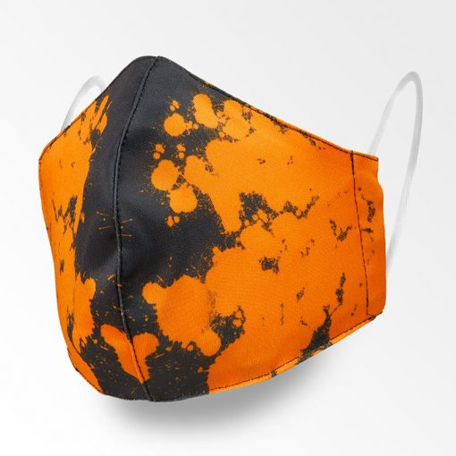 MNS01-111-Mund-Nasen-Schutz-Maske-Orange-Splash-1