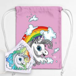 MNSBAG-003-Gym-Bag-Maske-Set-Einhorn