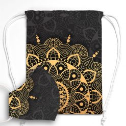 MNSBAG-007-Gym-Bag-Maske-Set-Mandala-Golden-Grey
