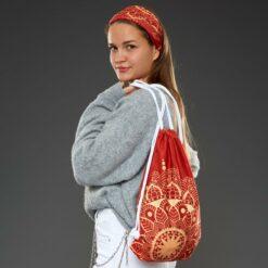 BAGTUB-003-Gym-Bag-Rucksack-Schlauchschal-Tube-Bandana-Mandala-Autumn-2